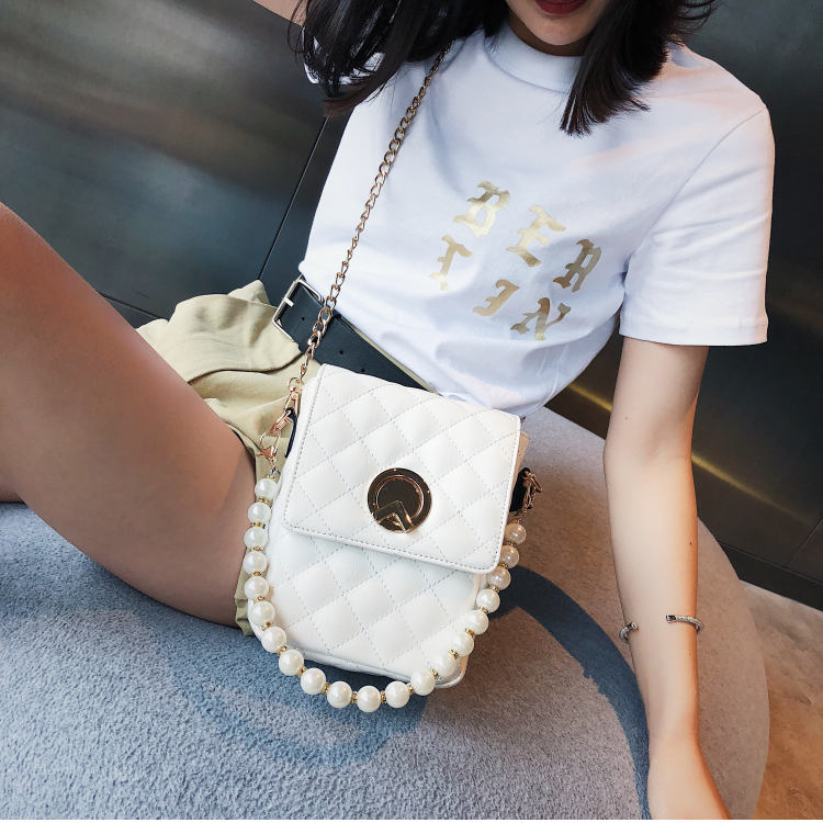 Crossbody bag Fashion Women Bag Women Purses And Handbags Designer Brand Ladies Hand Bags PU Leather Chain Shoulder Bag Oumisi metallic pu chain crossbody bag