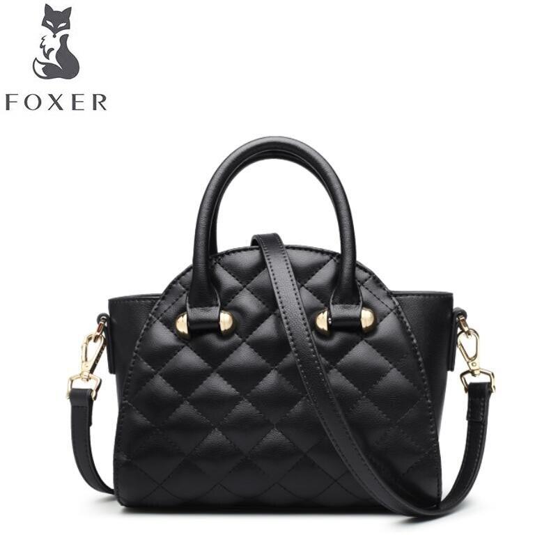 FOXER2018 new luxury fashion single shoulder mini handbags tide wild Messenger bag brand-name products 100% high-quality women's сумка через плечо brand name brand new messenger 2015 b1294