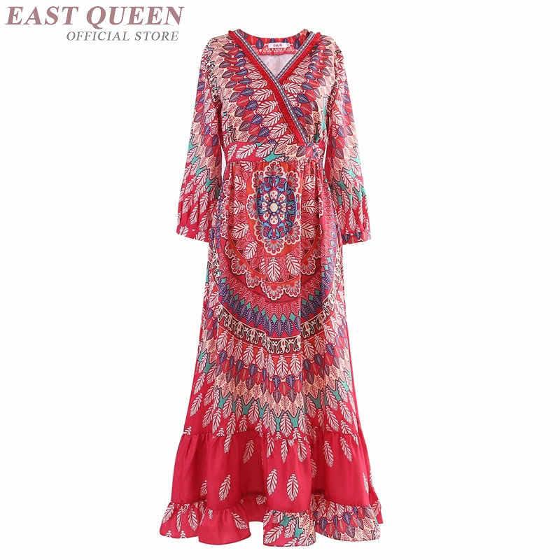 e7e476e8b Women Boho chic mexican hippie ethnic style dress clothing bohemian holiday  beach fashion female sexy dresses