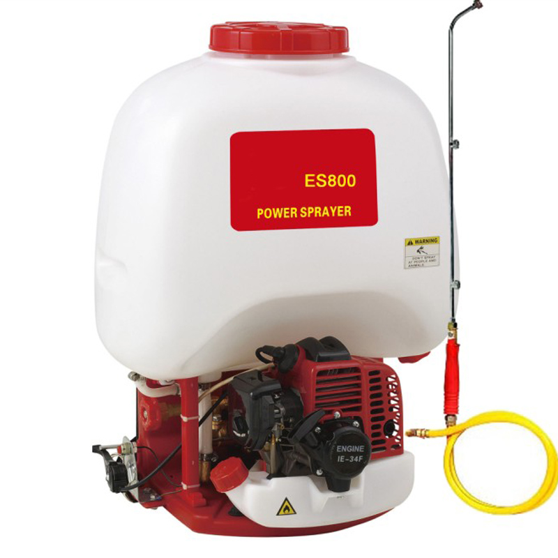 Power Stroke Engine >> Us 285 0 Gasoline Sprayer Es800 Knapsack Water Sprayer Power Stroke Engine Mist Garden Pulverizador Spray Agriculture Tools Farm Machine In Sprayers