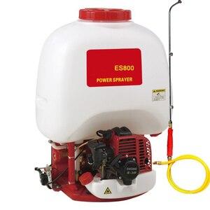 Pulverizador de gasolina ES800 rociador de agua de mochila motor de carrera eléctrica niebla Pulverizador de jardín Spray herramientas de agricultura máquina de granja