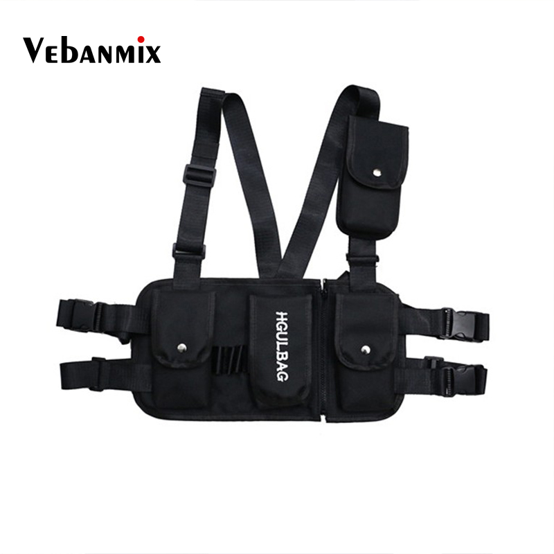 Luggage & Bags Backpacks 2019 Hip-hop Kanye West Street Ins Hot Style Chest Rig Military Tactical Chest Bag Functional Package Prechest Bag Vest Bag Suitable For Men And Women Of All Ages In All Seasons