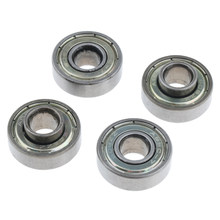 4pcs Wheelchair Front Caster Wheel Bearings Replacements 0.9 inch Diameter for Most Standard Wheelchair(China)