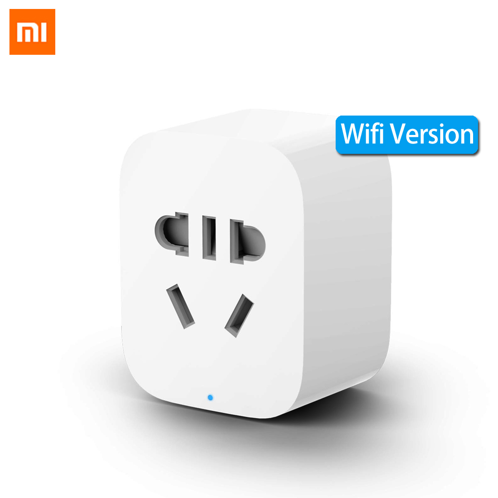 Original Xiao mi mi Jia mi Smart Steckdose Stecker WiFi Drahtlose Fernbedienung Steckdosen Adapter Power On und Off mit Telefon