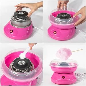 Image 4 - Điện Mới DIY Ngọt Máy Làm Kẹo Bông Gòn Di Động Bông Đường Chỉ Máy Làm Qùa Ngày Trẻ Em Marshmallow Máy