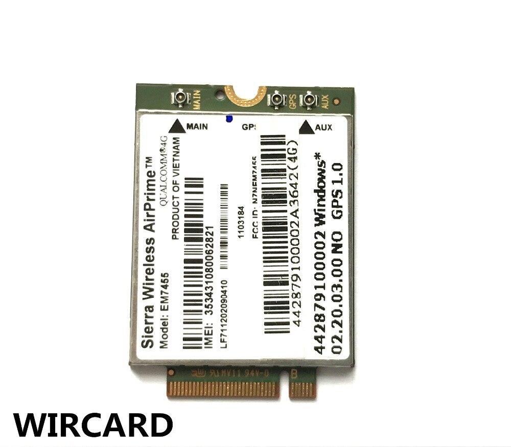 EM7455 FDD/TDD LTE Cat6 4G MODULE 4G carte pour ordinateur portable 1
