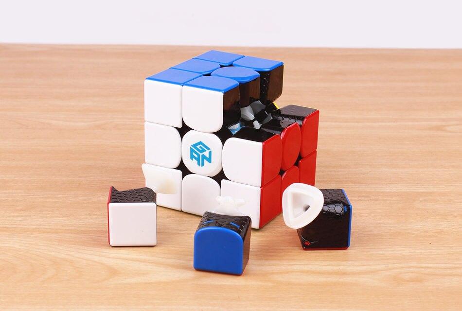 3x3x3, cubo mágico, profissional gan 356r, brinquedos