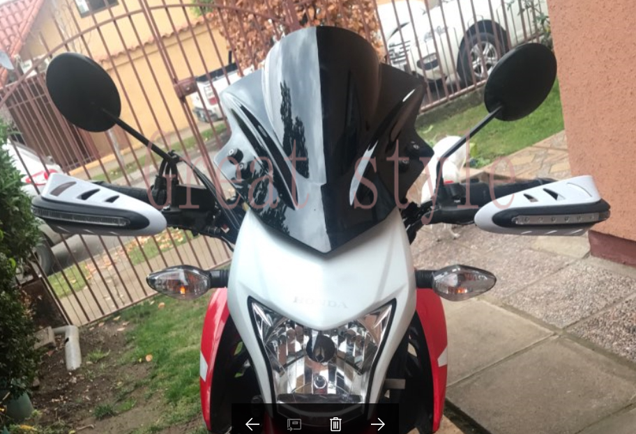New bike Motorcycle Motorbike Windshield WindScreen For Suzuki GSR600 GSR400 GSR 400 600 2006 2015 GW250