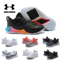 2018 Under Armour Shoes Men UA Curry 5 Basketball Shoes zapatos hombre Outdoor Sneakers Black White Athletic Sport shoes
