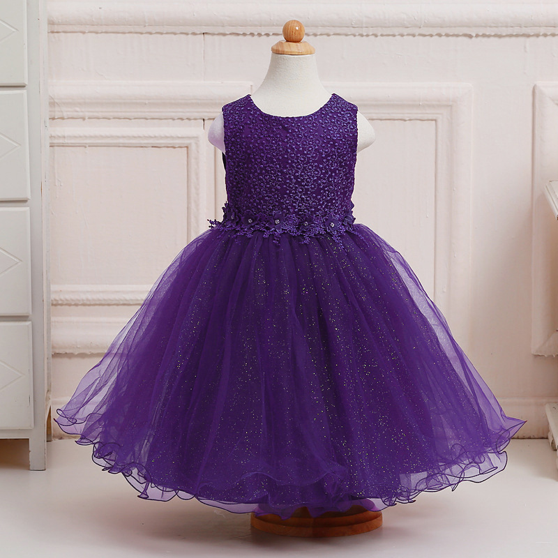 Baby Girl Dress Summer 2017 Teenager Party Dresses For Girl Printed ...