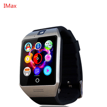Nfc smart watch q18s arcนาฬิกาที่มีซิมการ์ดtfบลูทูธการเชื่อมต่อสำหรับiphoneโทรศัพท์a ndroid smartwatch pk gv18 dz09 t11 m26