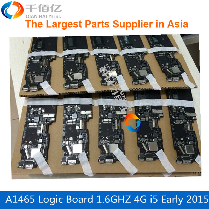 820-00162-A Laptop Mother board <font><b>A1465</b></font> Logic board 1.6GHZ 4G i5-5250U Early 2015 For MacBook Air 11' image