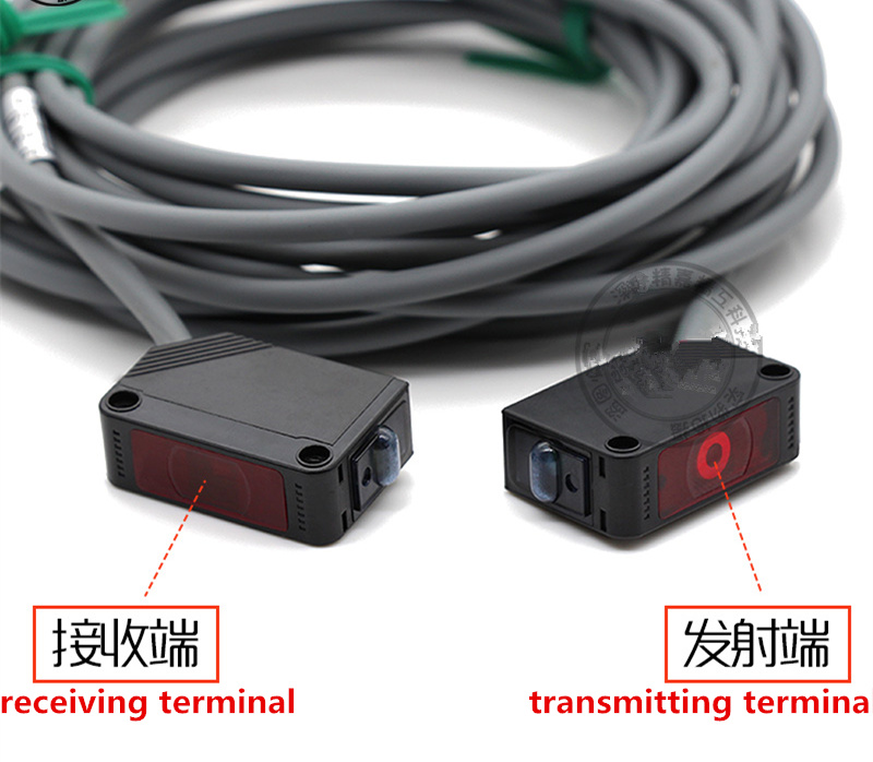 Laser Correlation Photoelectric Switch Infrared Induction Distance 0-50m NPN PNP Replace For Omron E3Z--LT61 Laser Beam Sensor
