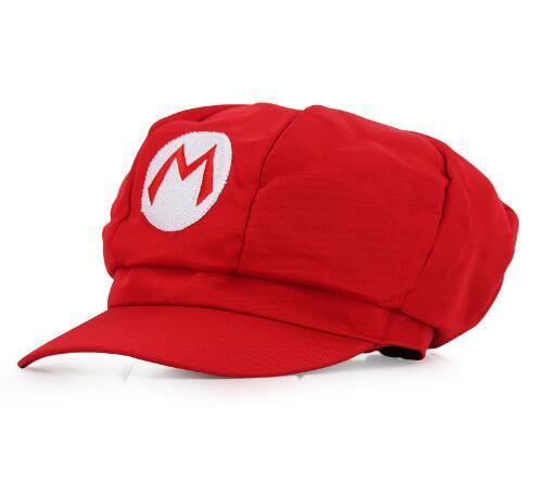 Anime Super Mario Hat Cap Luigi Bros Cosplay Baseball Costume ...