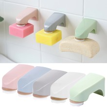 Magnet Soap Holder Wall Mounted Sticker Storage Rack Bathroom Organize Accessory(China)