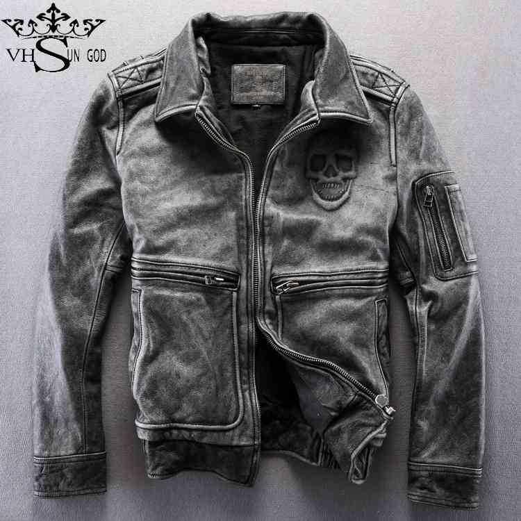 libero 2015 steampunk vintage nuovo giacche teschi moto trasporto Il SZqw5nqA