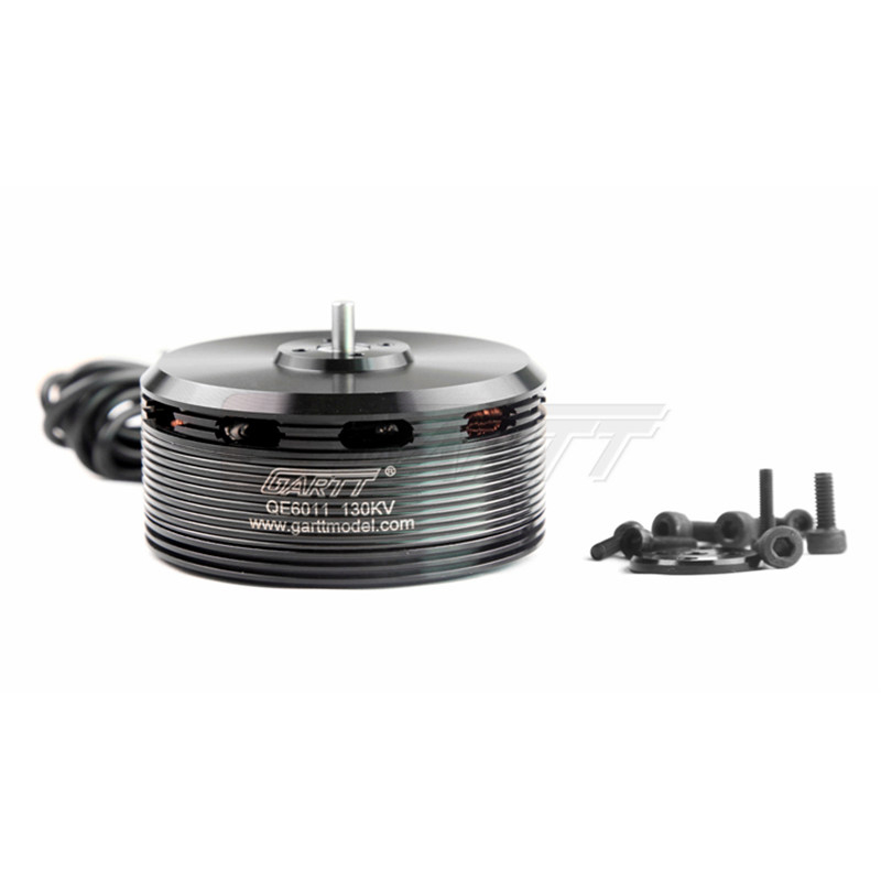 ФОТО GARTT QE 6011 130KV Brushless Motor For Plant Protection Operations Hexacopter Octocopter Multicopter