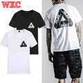 Palace Skateboard T Shirt Triangle Print Hip Hop Shirts Unisex Summer Style Casual Short Sleeve Tops Tee Rock Streetwear WXC