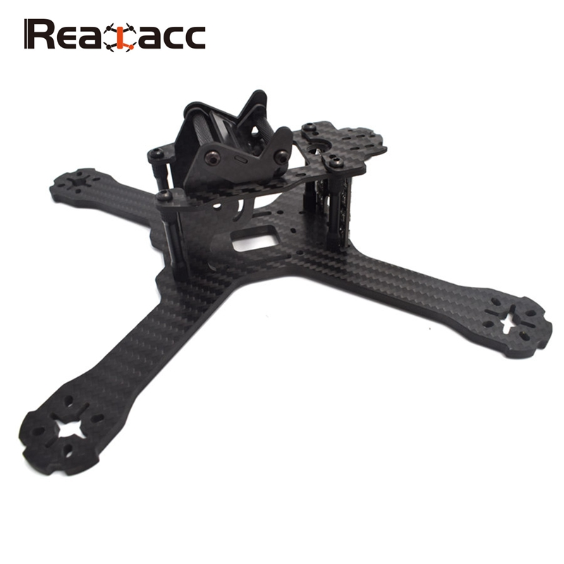 Hot Sale! Realacc X210 V+ 214mm 6K Carbon Fiber FPV Racing Frame 4mm Frame Arm w/ LED Board 5V & 12V PDB for RC Drone Quad DIY men tape side letter print drawstring pants