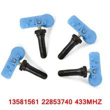 4 Pieces TPMS Car Tire Pressure Monitoring System Tire Pressure Sensors 433MHZ 22853740 For Opel Buick Chevy Cadillac GMC New(China)