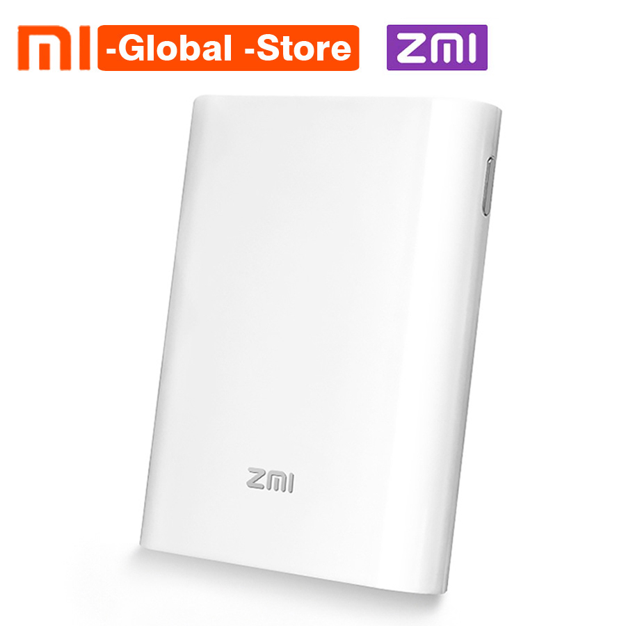 Xiaomi ZMI 4G Wifi Router 7800 mAh MF855 Power Bank 3G 4G Wireless Wifi Repeater Wifi Router Mobile Hotspot 7800mAh Power Bank ishare candy color 3g wireless router 5200mah mobile power bank storage