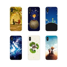 For Xiaomi Mi6 A1 5X 6X Redmi Note 5 5A 4X 4A 4 3 Plus Pro pocophone F1 Silicone Phone Case Cover The Little Prince On The Earth(China)