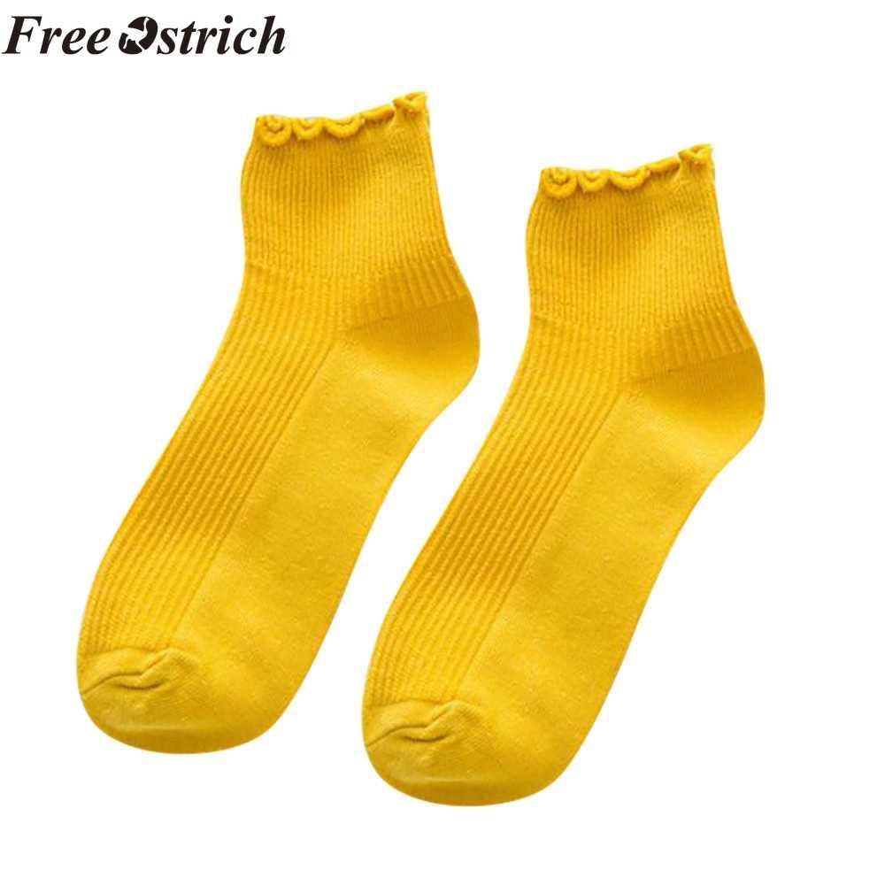 Бесплатная Страусиная Мода короткие носки школьный ветер Японский милый кружева маленький свежий лето дышащий пот лаконичные женские носки