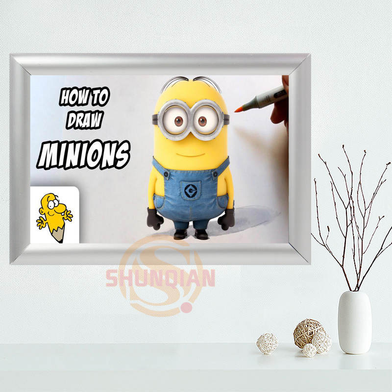 Detail Feedback Questions about Custom Minions Canvas Frame Aluminum ...