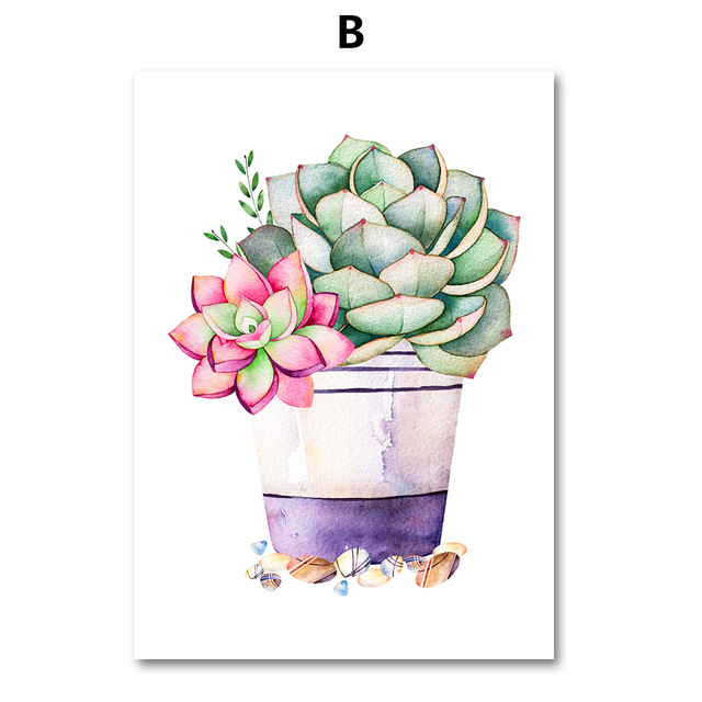 AFFLATUS-Cactus-Succulent-Plant-Canvas-Painting-Nordic-Poster-Wall-Art-Prints-Watercolor-Wall-Pictures-For-Living.jpg_640x640 (1)
