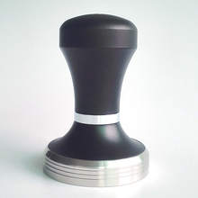 58mm 304 Stainless Steel Coffee Making Barista Espresso Tamper Base Body Press Australian Height Adjustable New Arrival Black