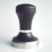 Ayarlanabilir Avustralya Tarzı Espresso Kahve Sabotaj Siyah Kahve Sabotaj Makinesi Basın Düz Taban Barista 51mm 57.5mm 58mm