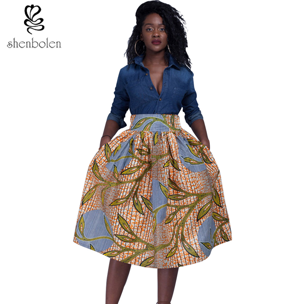African American Girls Fashion: Africa Clothing 2017 Summer Fashion Women African Print