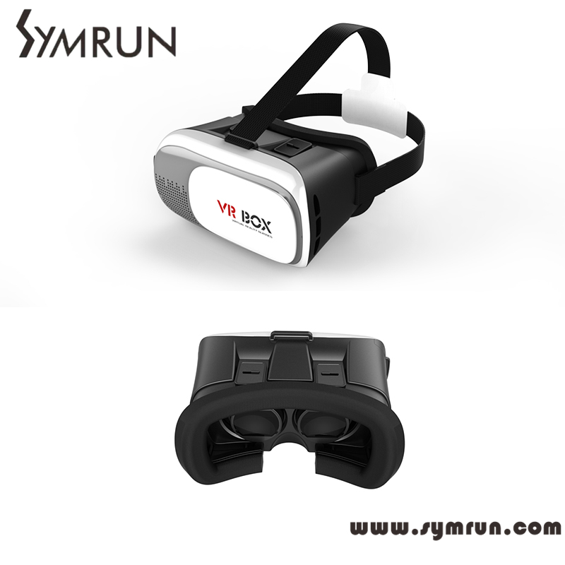 Symrun vr Box 2 Virtual Reality 3D Glasses Game Movie 3D Glass For Iphone Android Mobile