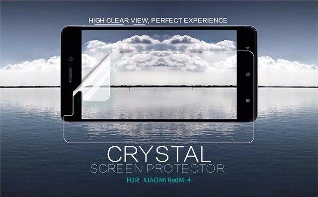 NILLKIN Xiaomi Redmi 4 Pro Super Clear Anti-fingerprint Защитная Плёнки или матовая Экран протектор Плёнки для Xiaomi Redmi 4 Премьер