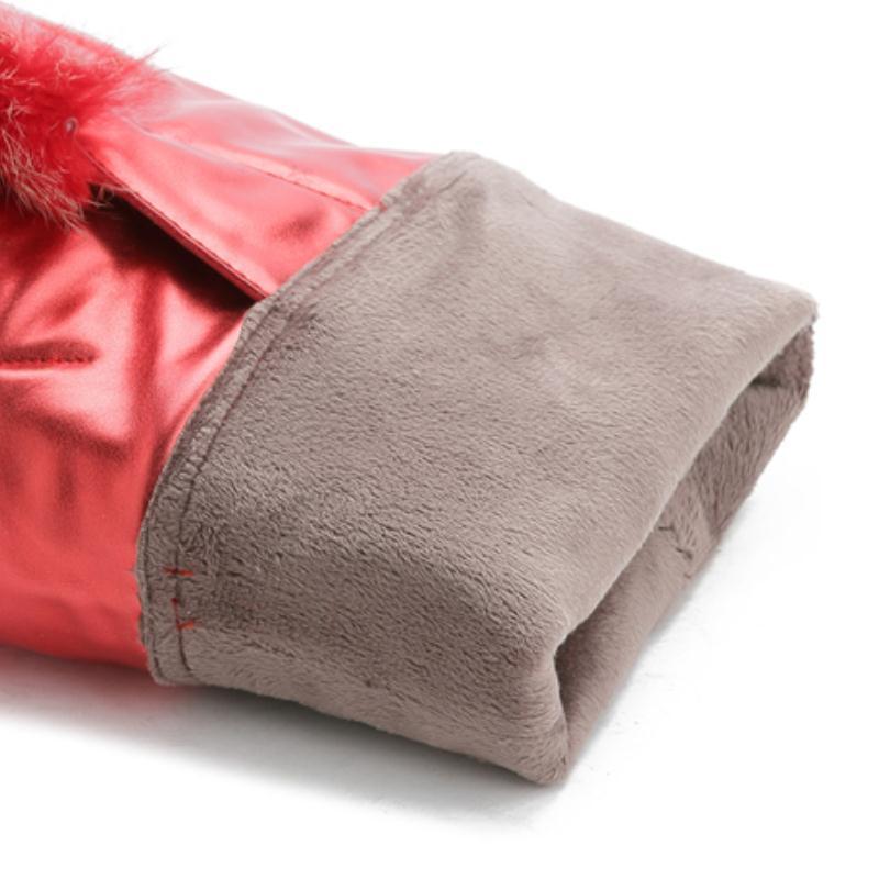 Fourrure Chaude Chaussures rouge Haute 34 Taille Cuisse Véritable Pour Sexy Taoffen Plate De Haut forme Hiver Bottes En Femmes Talon 39 Cuir Noir b67fgy