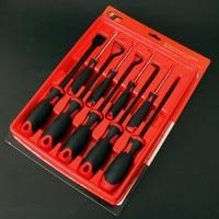 9 Pcs Mini Hook Oil Seal Screwdriver Set Tool For Car Repair Disassembly Tool Oil Seal Puller Chisel Universal Keys
