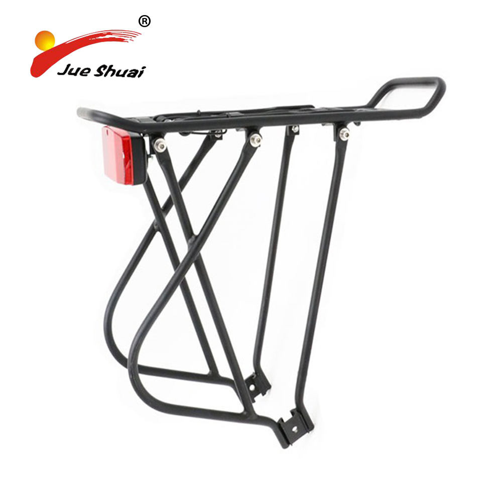 Electric-Bicycle-Luggage-Carrier Taillight Mountain-Road-Bike-Accessorie Rear-Rack Aluminium-Alloy