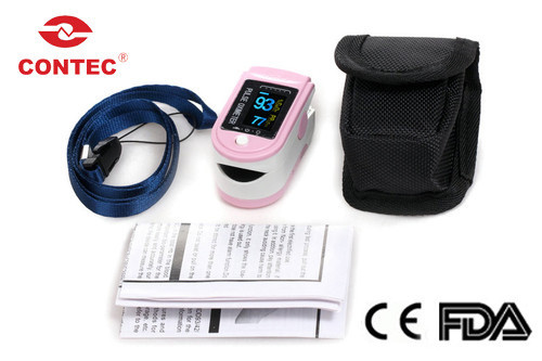 Free Shipping New Style CMS50D Home Use White Fingertip Pulse Oximeter With Color OLED Display cms50d pulse oximeter