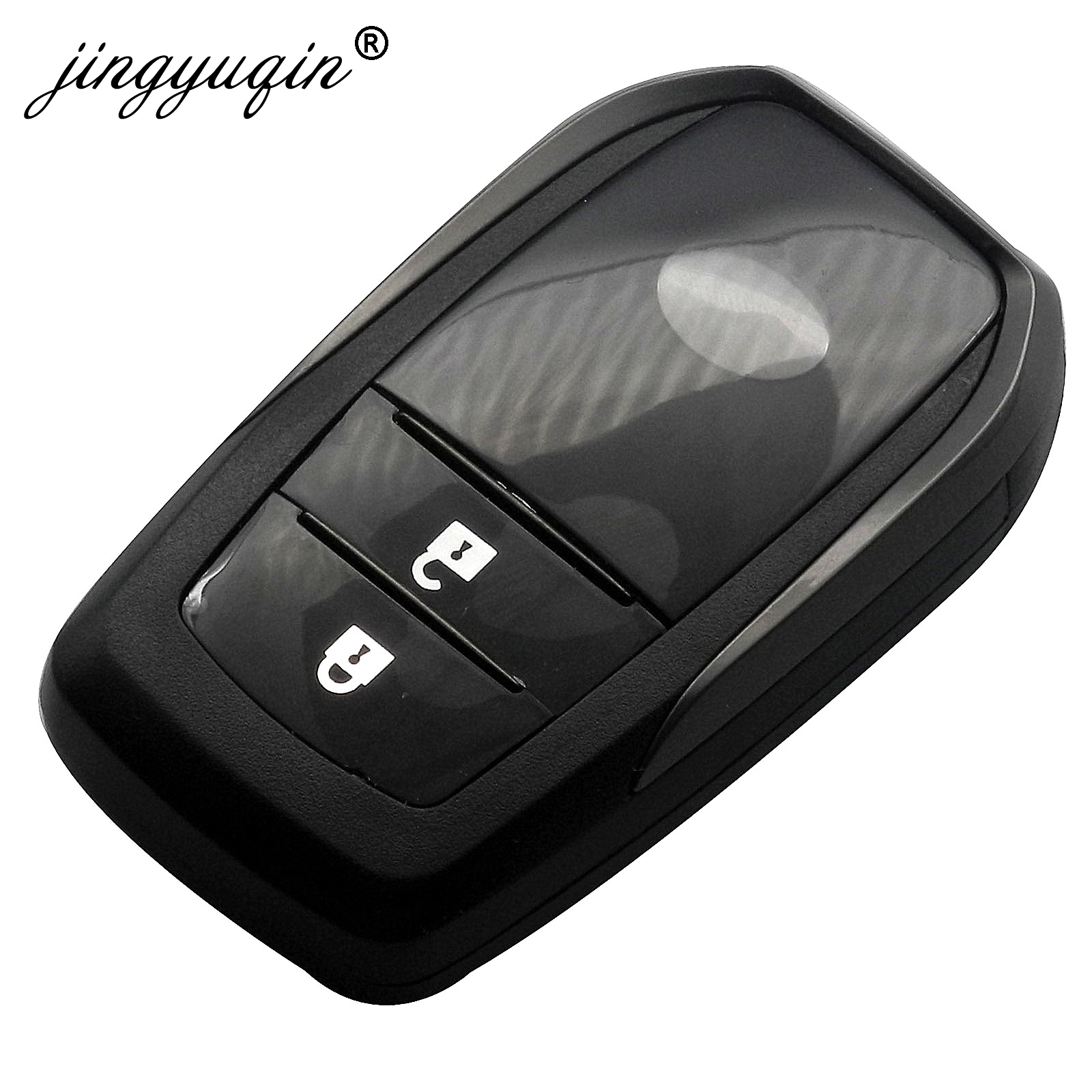 Replacement Smart Remote Key Shell Case Housing 3 Button for Toyota Prius C-HR