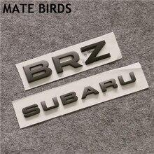 MATE BIRDS Subaru WRX STI BRZ модифицированный автомобильный Стандартный Полный Автомобильный модифицированный подписчик Английский алфавит хвост ав...
