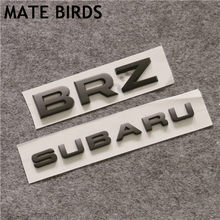 MATE BIRDS Subaru WRX STI BRZ modifié voiture Standard complet voiture modifiée indice anglais Alphabet queue voiture autocollants(China)