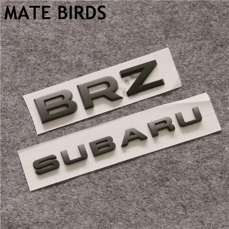 MATE BIRDS Subaru SUBARU WRX STI BRZ, coche modificado estándar completo del coche modificado, adhesivos de cola del alfabeto inglés