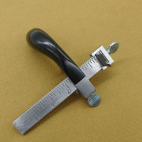 DIY hand sewn leather tools, vegetable tanned leather belt cutter, cut leather line leather belt splitter