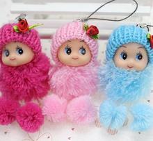 5 шт./лот, мини юбка-пачка Куклы Дети Детские Мультяшные плюшевые игрушки кулон с изображением из фильма подарок для девочек и мальчиков игрушки, плюшевые игрушки случайного цвета