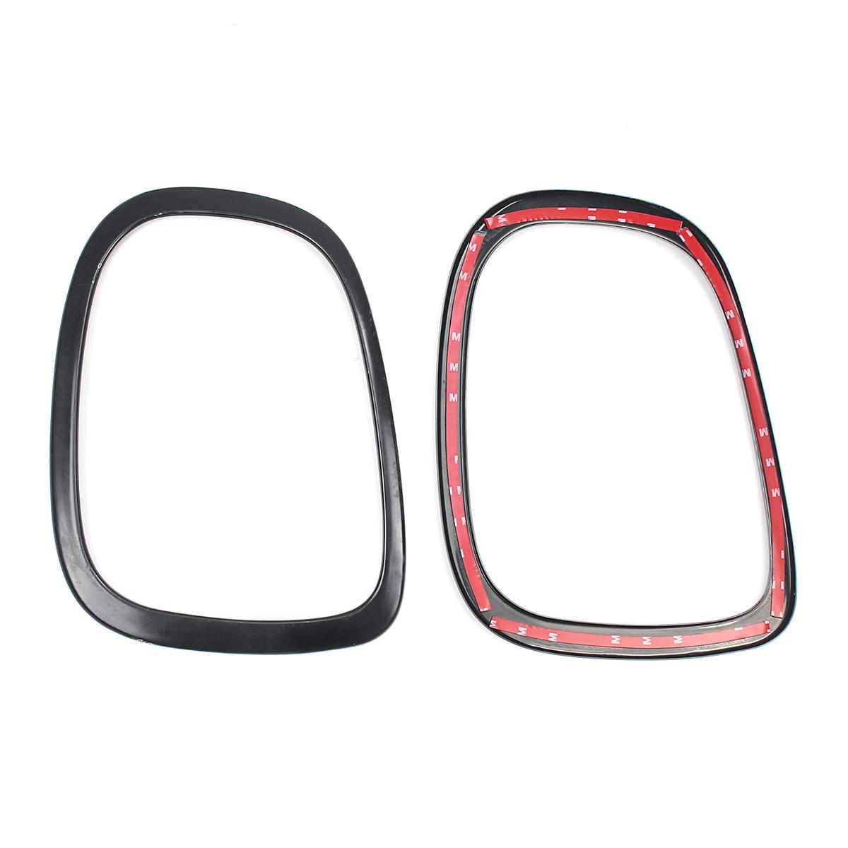 NUOVO 4 pz/set Faro Dell'automobile Testa Coda Posteriore Lampade Rim Trim Anello Coperture Per Mini Cooper One JCW F55 F56 auto Accessori per lo styling - 6