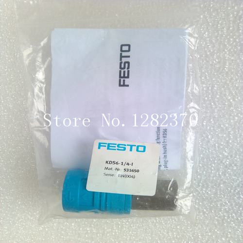 [SA] New original authentic special sales FESTO gas fitting KDS6-1 / 4-I stock 531 650 --5pcs/lot