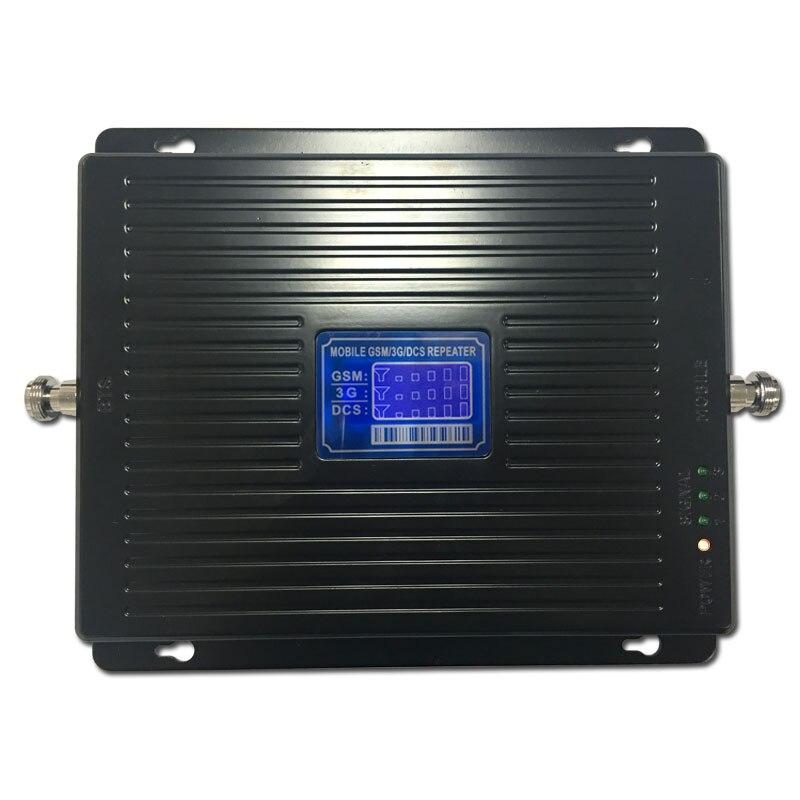 900 1800 2100 MHZ amplificateur de Signal GSM LTE UMTS 2G 3G 4G Tri bande amplificateur de Signal de téléphone portable répéteur de signal Mobile - 5