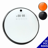 Robotic Vacuum Cleaner Smart Vacuum Cleaner Robot Wet Mopping Planned Path 2600mAh Battery For Pet Hair