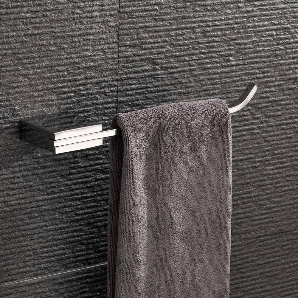 Stainless Steel Washcloth Hanger Wall Mounted Towel Holder Home Bathroom Supplies