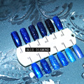 Bluesky Diamond Hybrid Gel Nail Polish High Quality Long-lasting Soak Off  LED Manicure Beauty DIY Nail Art Tools 12colors 12ml